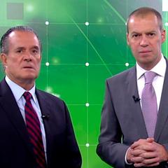 Raúl Orvañanos y André Marín